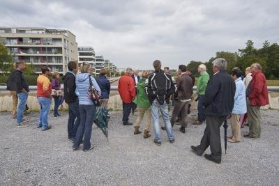 Ein Vereinsanlass: Führung und Besichtigung vom Glattpark in Zürich-Opfikon