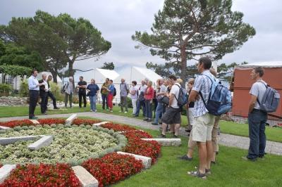 Ein Vereinsanlass: Führung und Besichtigung der Seeanlage in Montreux